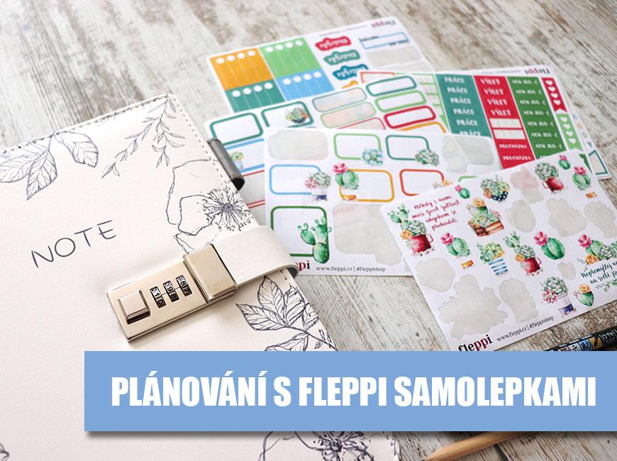 Plánování s Fleppi samolepkami