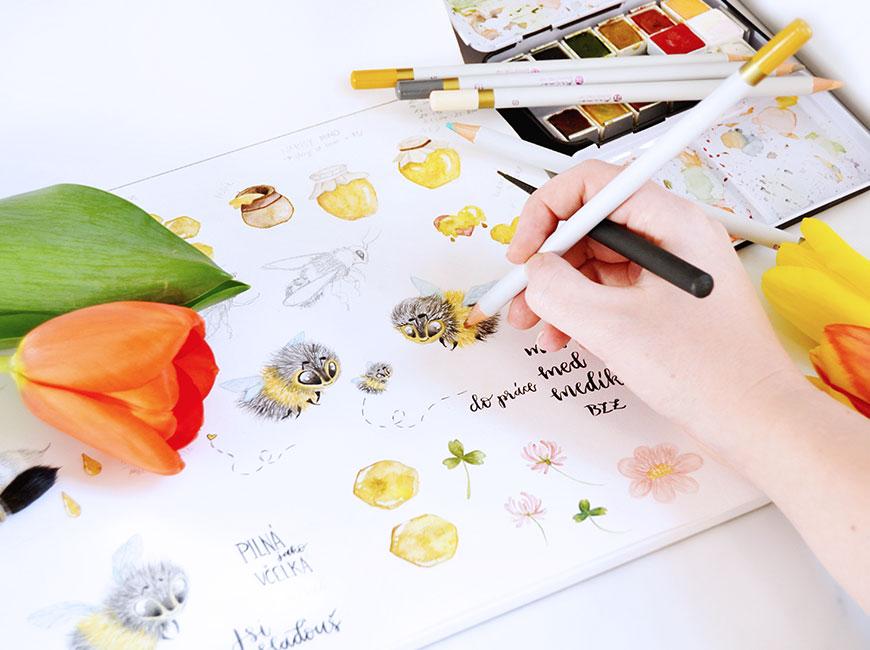 Nálepky do diáře pro kreativní plánování