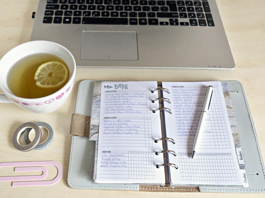 Plánování úklidu - 10 seznamů, které nesmí chybět ve vašem diáři