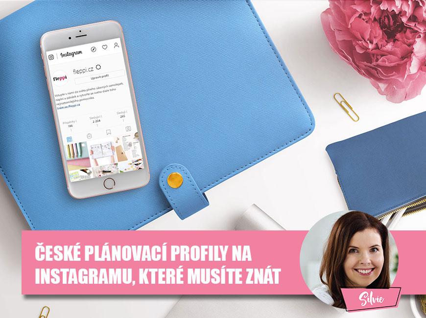 České plánovací profily na Instagramu, které musíte znát