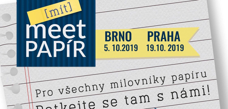 Meet Papír 2019 | Setkejme se v papírovém ráji
