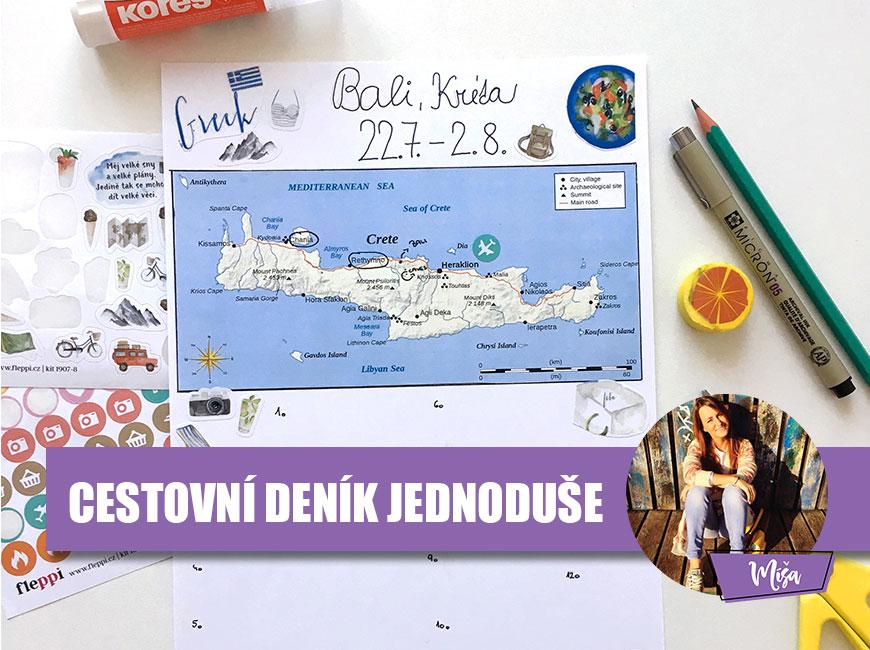 Cestovní deník jednoduše - Fleppi.cz