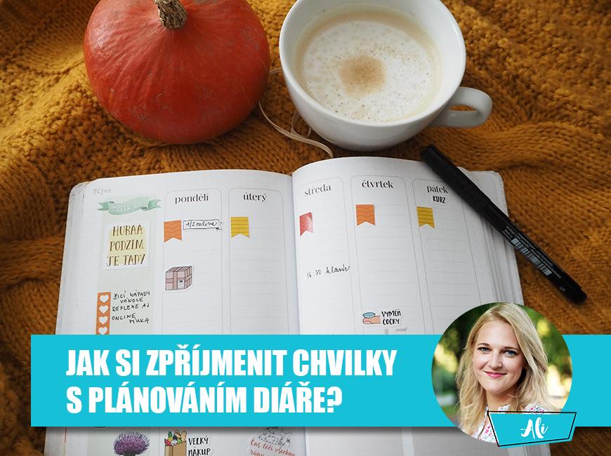 Jak si užít plánování diáře - Fleppi.cz