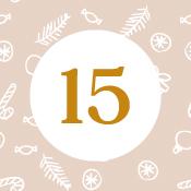 Adventní kalendář - 15. den