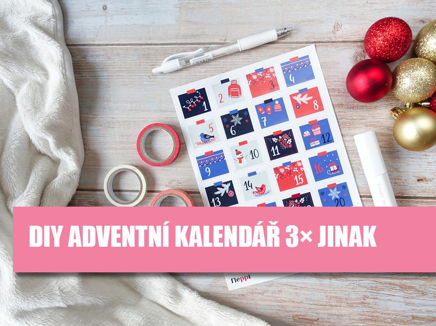 DIY adventní kalendar 3x jinak Fleppi