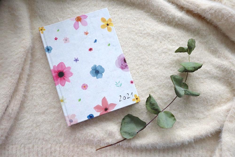 blackovadesign diář Flower adventní kalendář soutěž Fleppi.cz