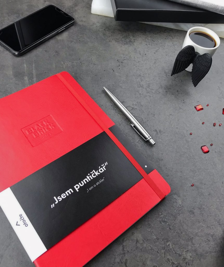 Black Brick zápisník