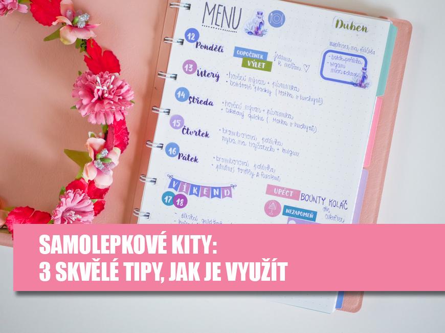 Měsíční samolepkové kity, samolepky - Fleppi.cz