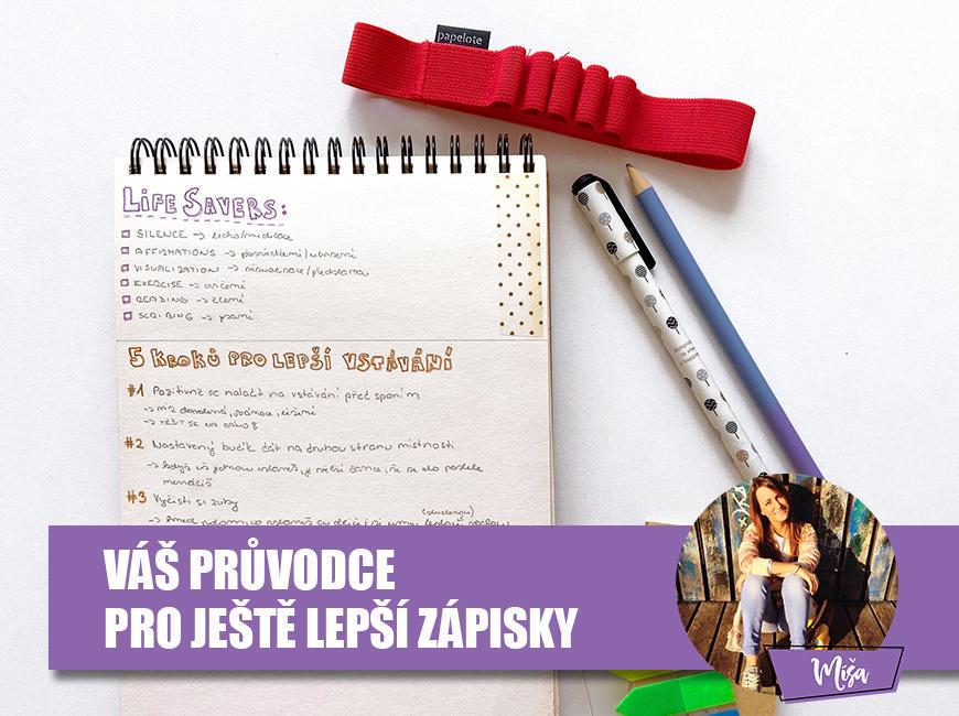 Jak udržovat pořádek v poznámkách - Fleppi.cz