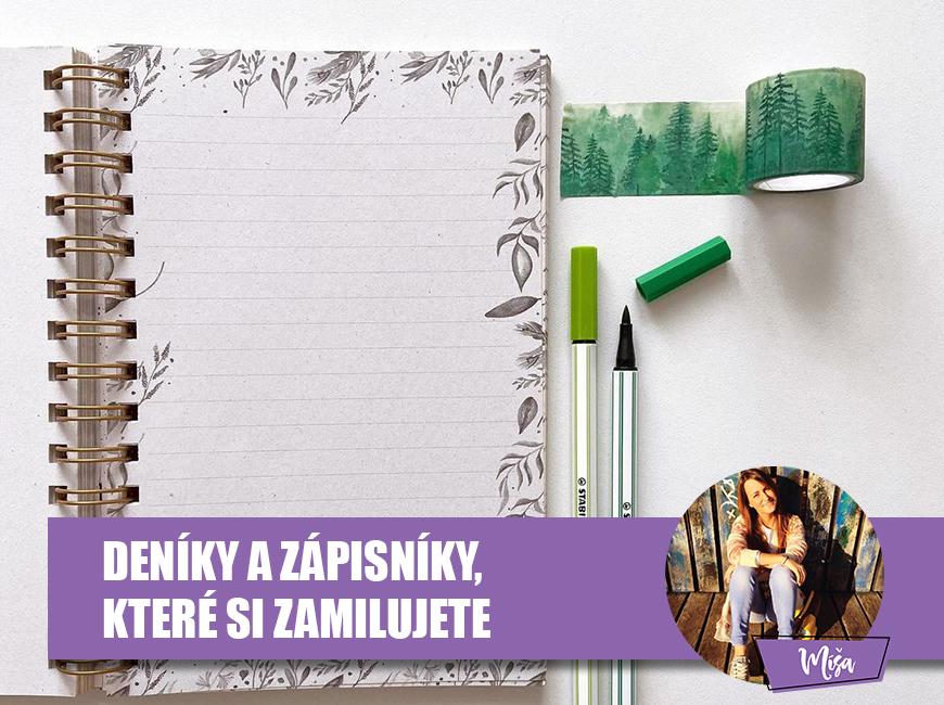 Krásné deníky a zápisníky - Fleppi.cz