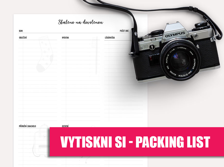 Vytiskni si - Packing list