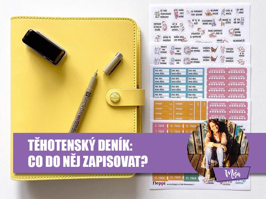 Těhotenský deník - Fleppi.cz