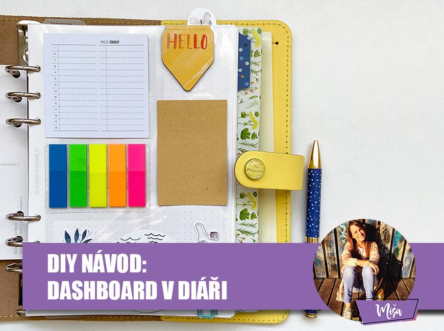 DIY navod - dashboard v diáři, Fleppi.cz